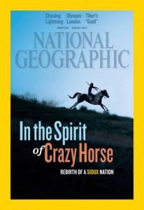 National Geographic Magazine August Cover 2012