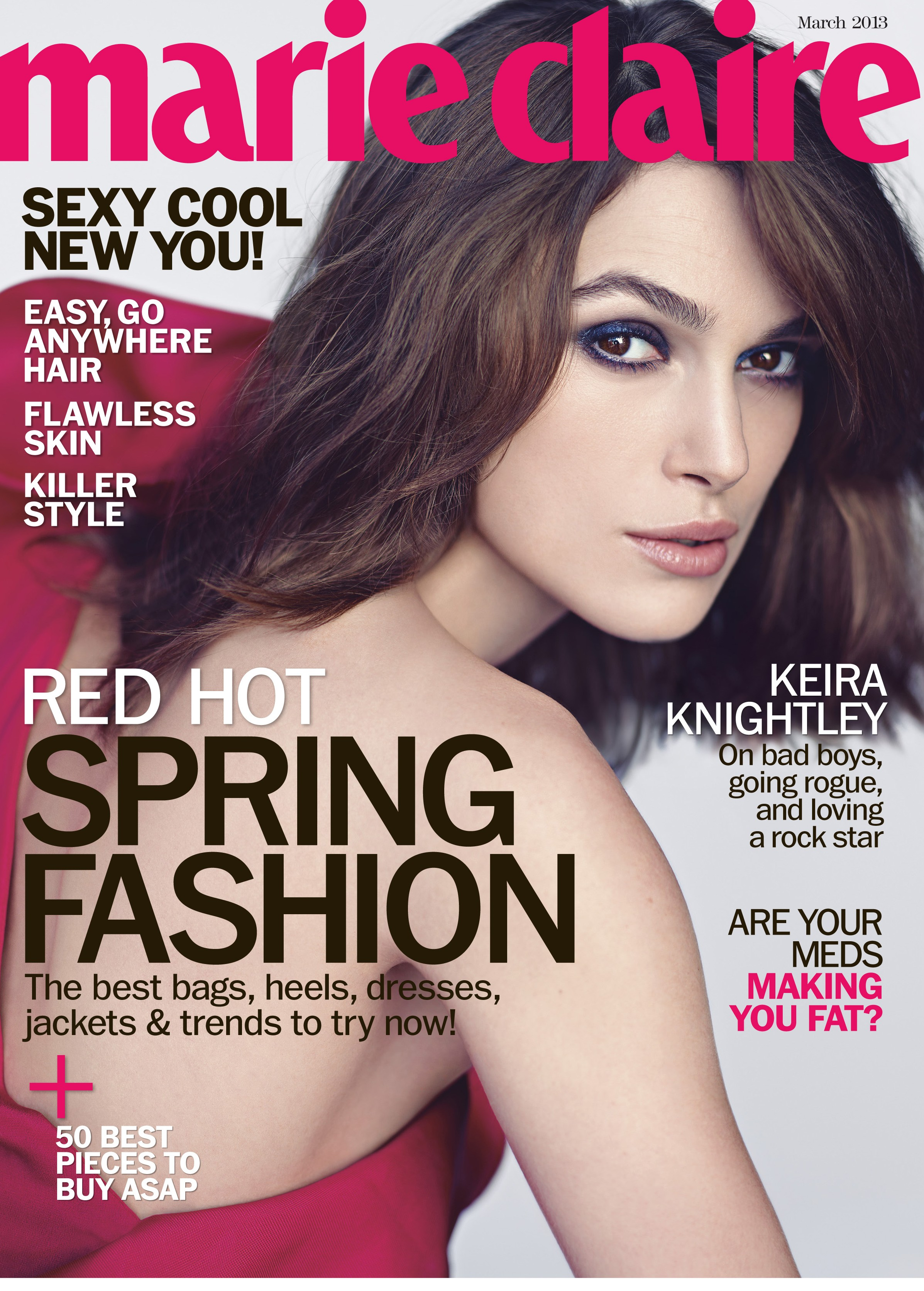 Marie Claire March 2013 cover