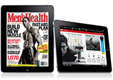 Image of Men's Health on the iPad