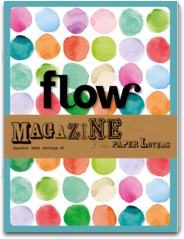cover of Flow magazine on the iPad
