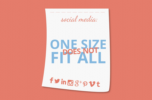 social-media-one-size infographic