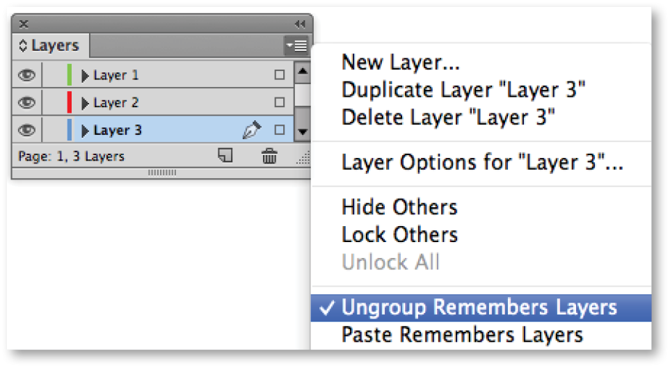 InDesign CC Tip: Ungroup Remembers Layers   Technology for