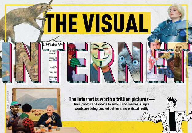 Infographic Visual Internet