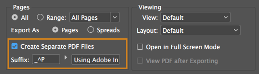 InDesign Tip: Separate PDF Pages | Technology for Publishing LLC