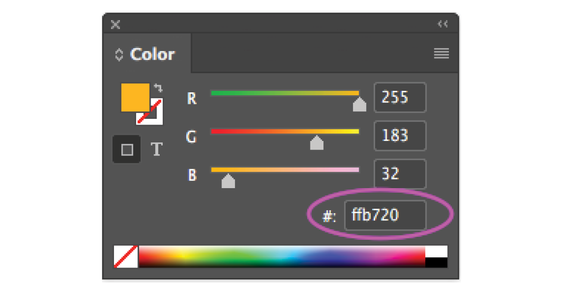 Tip Hex Value Field For Colors Technology For Publishing Llc