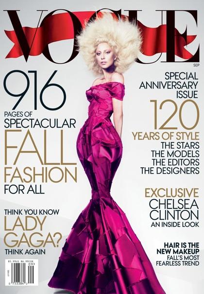 Vogue's September 2012 Cover