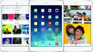 Image of iPad Mini with iOS7