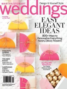 Martha Stewart Weddings cover