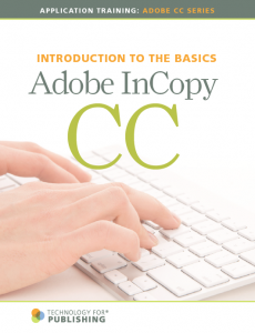 Purchase TFP's Using Adobe InCopy CC handbook