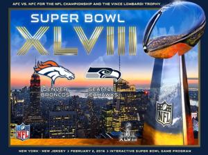 Super Bowl XLVIII game program tablet edition screenshot