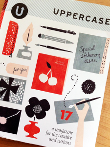 Cover of Uppercase magazine