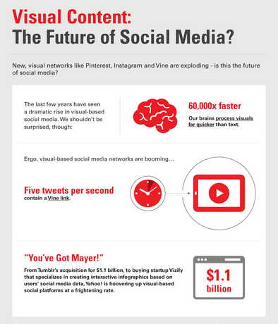 Social Media Visuals infographic