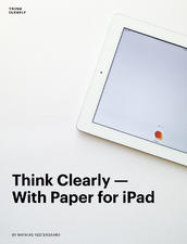 Think Clearly With Paper for iPad