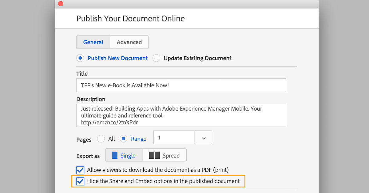 Indesign Tip Publish Online Embed And Share Technology For Publishing Llc